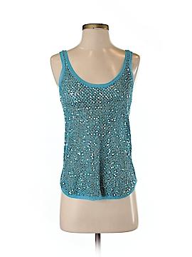 IISLI Sleeveless Silk Top Size S