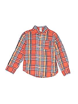 Little Me Long Sleeve Button-Down Shirt Size 4T