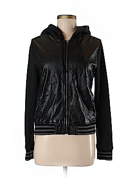 Roxy Faux Leather Jacket Size M