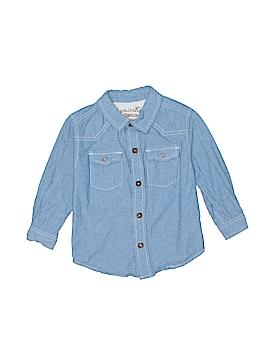 Genuine Kids from Oshkosh Long Sleeve Button-Down Shirt Size 24 mo