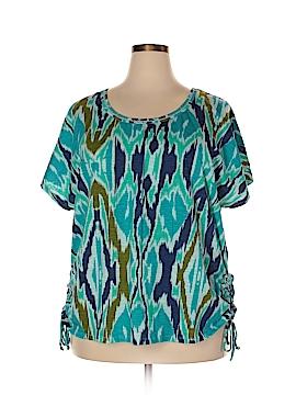 Lane Bryant Short Sleeve T-Shirt Size 21 - 24 Plus (Plus)