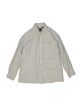 Gap Long Sleeve Button-Down Shirt Size 7