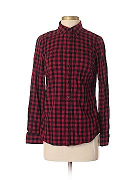 St. John's Bay Long Sleeve Button-Down Shirt Size S