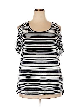 Dex Short Sleeve Top Size 2X (Plus)