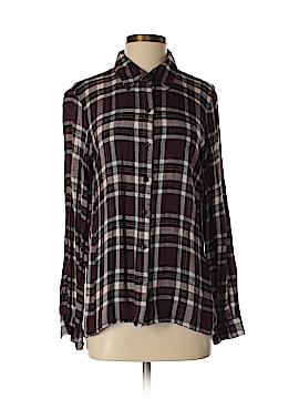 WAYF Long Sleeve Button-Down Shirt Size S