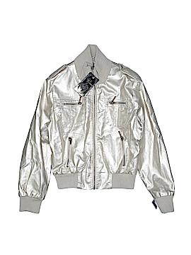 Yoki Faux Leather Jacket Size 16