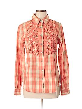 Tasha Polizzi Collection Long Sleeve Button-Down Shirt Size M