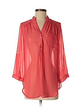 BCX Long Sleeve Blouse Size M