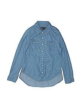 Takara Long Sleeve Button-Down Shirt Size M (Youth)