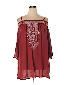 Dex Short Sleeve Blouse Size 2X (Plus)