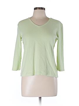 Preswick & Moore 3/4 Sleeve T-Shirt Size L (Petite)