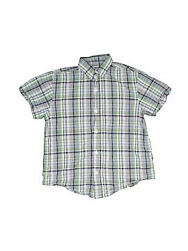 Arizona Jean Company Short Sleeve Button-Down Shirt Size S (Kids)