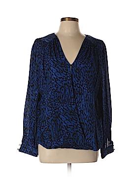 Parker Long Sleeve Silk Top Size L