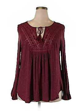 Jessica Simpson Long Sleeve Top Size 2X (Plus)