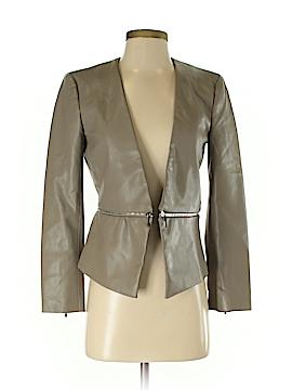 Zara Faux Leather Jacket Size XS