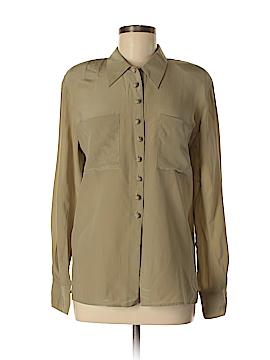 Jones New York Long Sleeve Silk Top Size 6