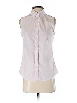Banana Republic Factory Store Sleeveless Button-Down Shirt Size 4
