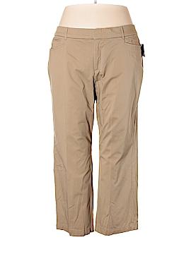 JM Collection Khakis Size 24W Petite (Plus)