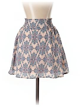 Peach Love Cream California Casual Skirt Size S