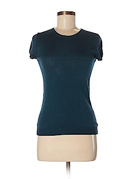Barneys New York Short Sleeve Silk Top Size M
