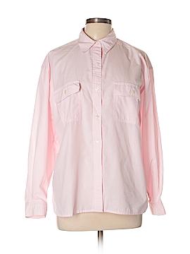 Chaus Long Sleeve Button-Down Shirt Size L