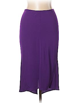 Diane von Furstenberg Silk Skirt Size 10