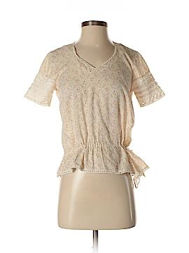Jill Stuart Short Sleeve Blouse Size Sm (1)