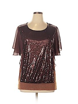 Eloquii Short Sleeve Top Size 14 - 16 Plus (Plus)