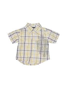 CALVIN KLEIN JEANS Short Sleeve Button-Down Shirt Size 12 mo