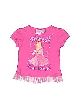 Barbie Short Sleeve T-Shirt Size 4T