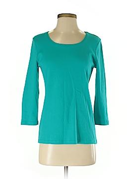 Karen Scott 3/4 Sleeve T-Shirt Size S