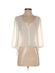 Petticoat Alley Women 3/4 Sleeve Blouse Size XS
