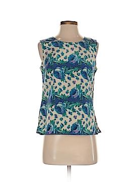 Talbots Sleeveless Silk Top Size 2