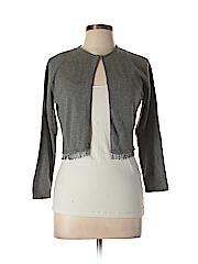 Laundry by Shelli Segal Women Silk Cardigan Size L
