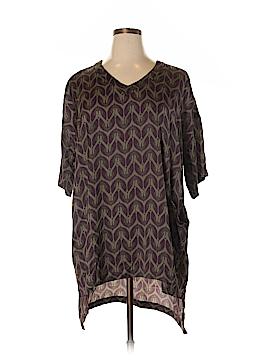 Seven7 Short Sleeve Blouse Size 0X (Plus)