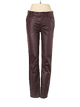 Armani Exchange Faux Leather Pants Size 4
