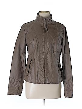 DressBarn Faux Leather Jacket Size L
