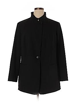 Lafayette 148 New York Wool Blazer Size 16W