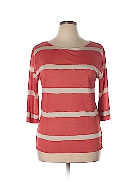 NM Luxury Essentials 3/4 Sleeve Silk Top Size 2