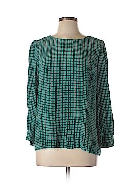 Kate Spade New York Long Sleeve Silk Top Size 10