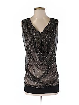 Maggie Ward Sleeveless Silk Top Size S