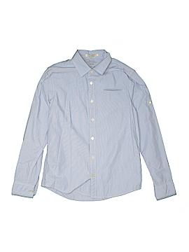 Scotch Shrunk Long Sleeve Button-Down Shirt Size 12