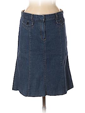 Theory Denim Skirt Size 6