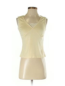 Allison Taylor Sleeveless Silk Top Size S