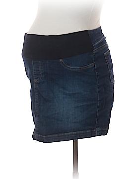 Seraphine Denim Skirt Size 10 (Maternity)