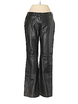 Bebe Leather Pants Size 0