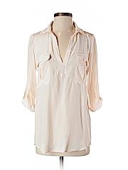 Rory Beca Women 3/4 Sleeve Silk Top Size XS