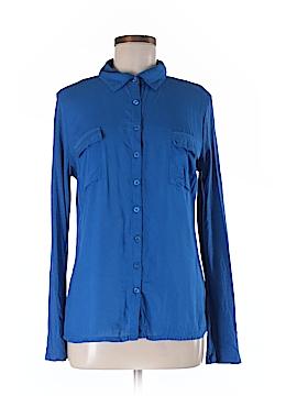 DKNY Long Sleeve Button-Down Shirt Size M