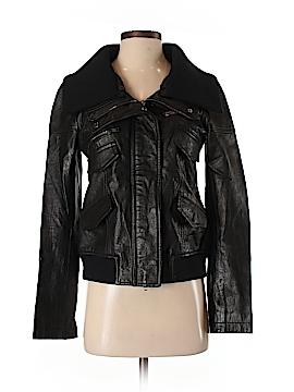 Theory Leather Jacket Size S