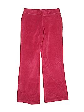 Danskin Now Velour Pants Size L (Youth)